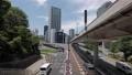 赤坂見附交差点でのドリーショット ジンバル撮影・移動映像 80868895