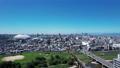 ナゴヤドームから望む昼間の名古屋駅(水平R>L) 81594007