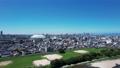 ナゴヤドームから望む昼間の名古屋駅(水平L>R) 81594008