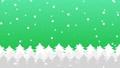森に雪が降るアニメーションのグラデーション背景パターン  82264144