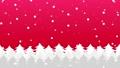 森に雪が降るアニメーションのグラデーション背景パターン  82264145