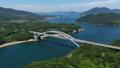 大三島橋(しまなみ海道) 空撮 82404725
