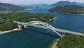 大三島橋(しまなみ海道) 空撮 82404727