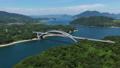 大三島橋(しまなみ海道) 空撮 82404729