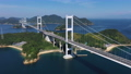 来島海峡、馬島(しまなみ海道) 空撮 82404735