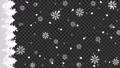 森に雪と結晶が降るアニメーションのグラデーション背景パターン 背景透過 縦用 82886270