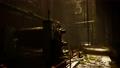 Industrial interior of abandoned repair station 83046564