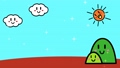 太陽和雲的自然動畫 83151705