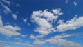 High-quality 4K time lapse blue sky and cloud flow perming4K211018 Video material 83178391