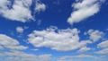 High-quality 4K time lapse blue sky and cloud flow perming M211018 Video material 83203401